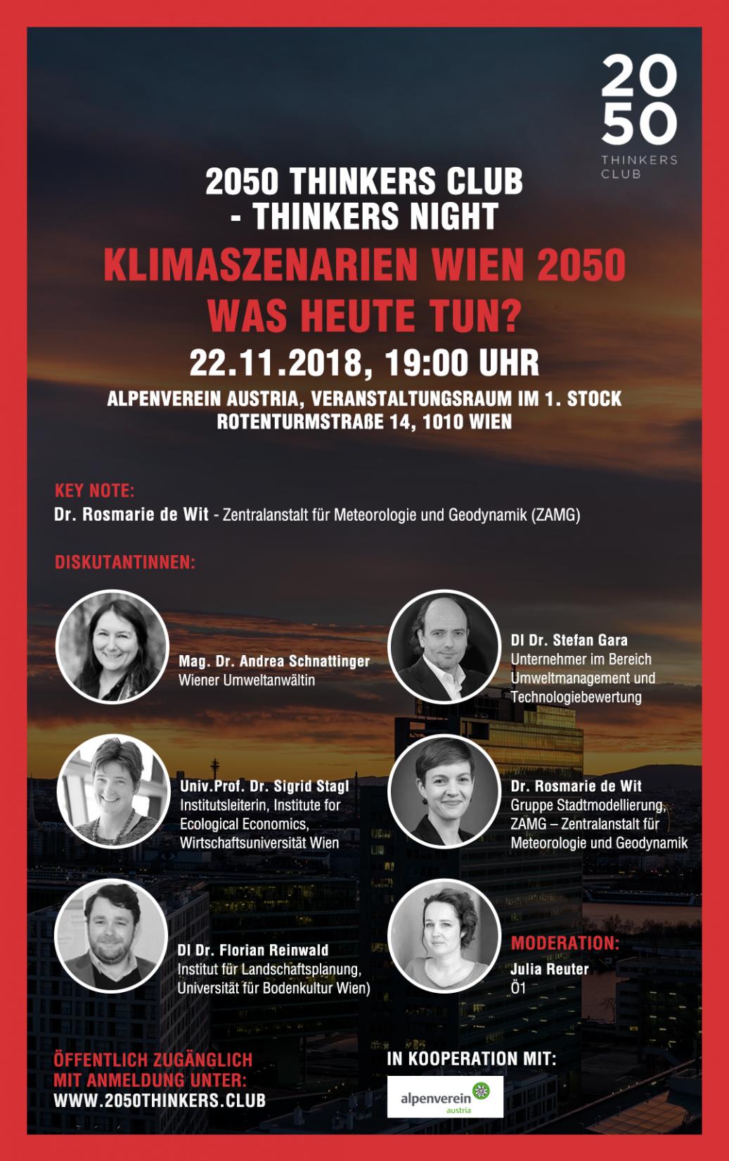 Klimaszenarien Wien 2050 - Was heute tun?