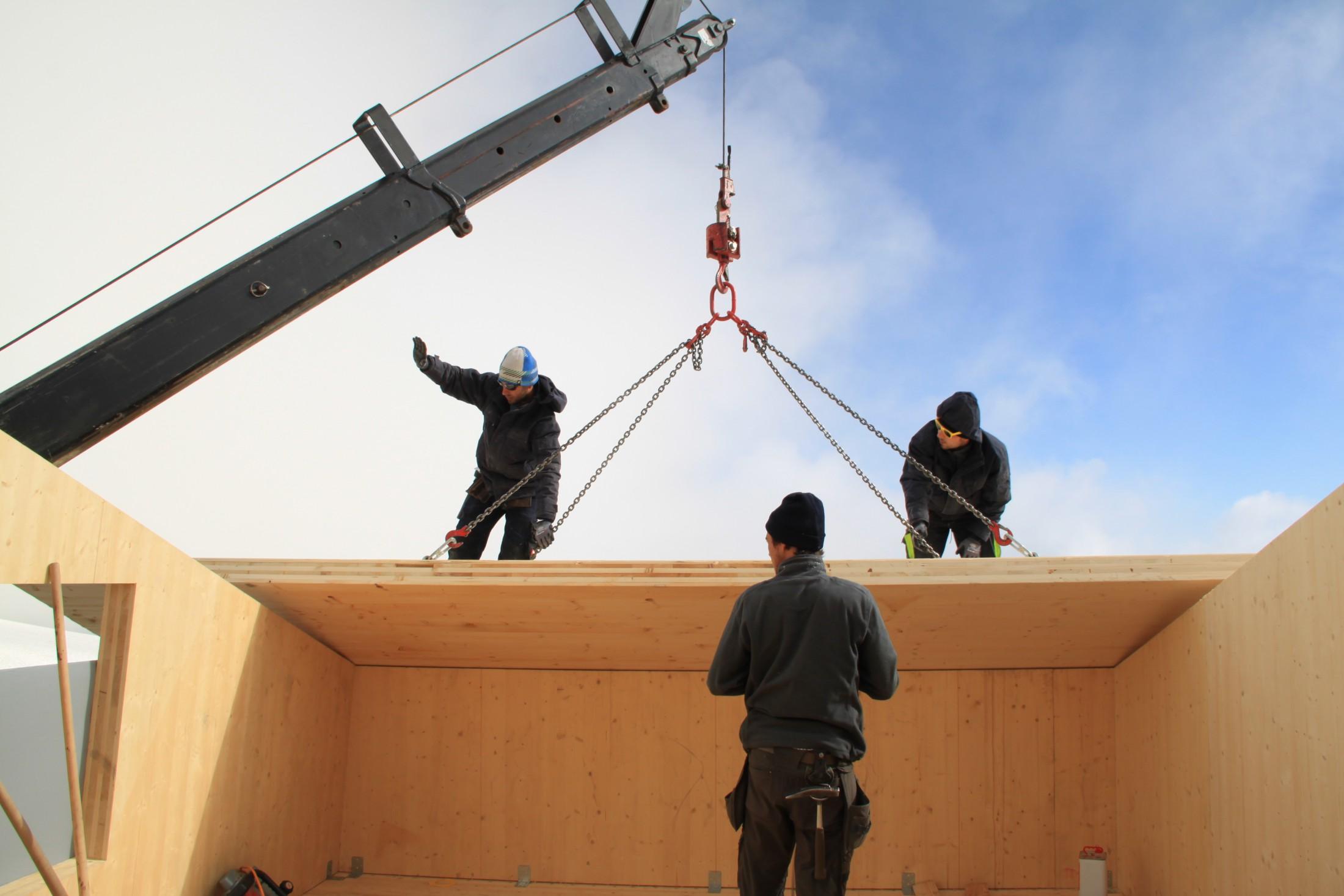 Ersatzbau der Seethalerhütte - der Bau geht weiter!