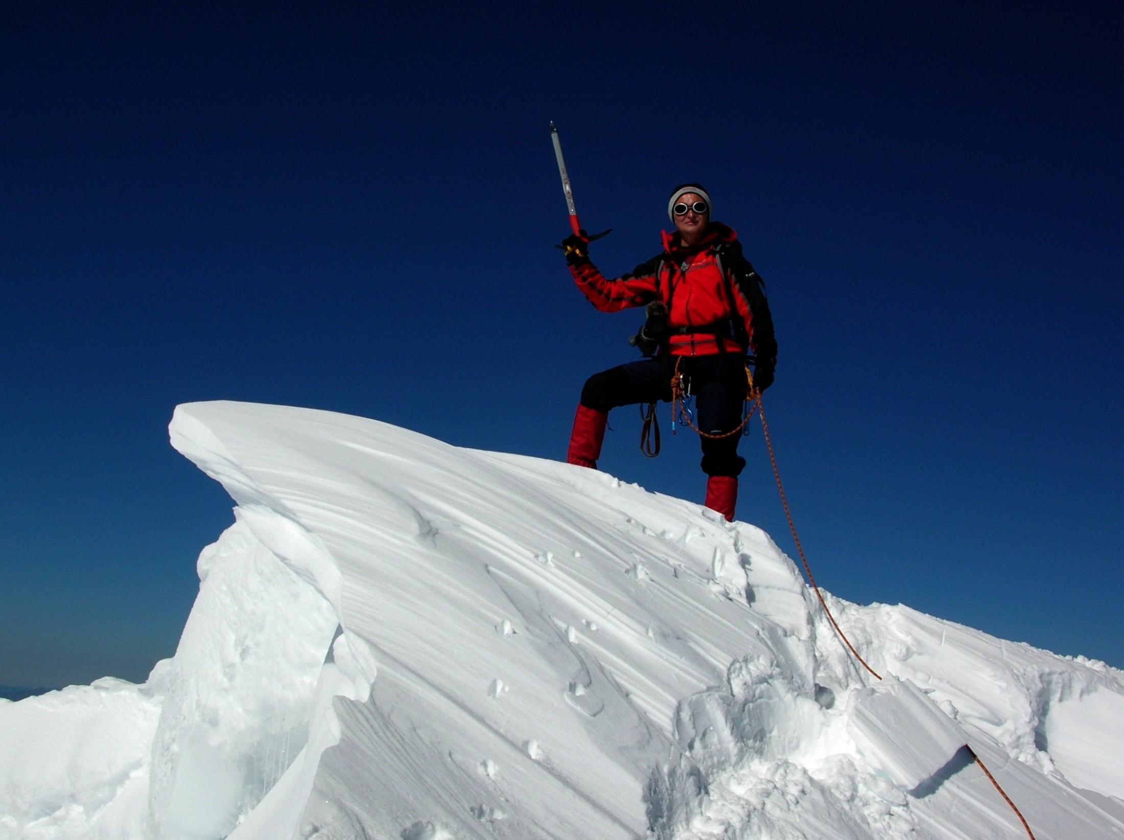 Eiskurs auf der Oberwalder-Hütte, Glocknergruppe