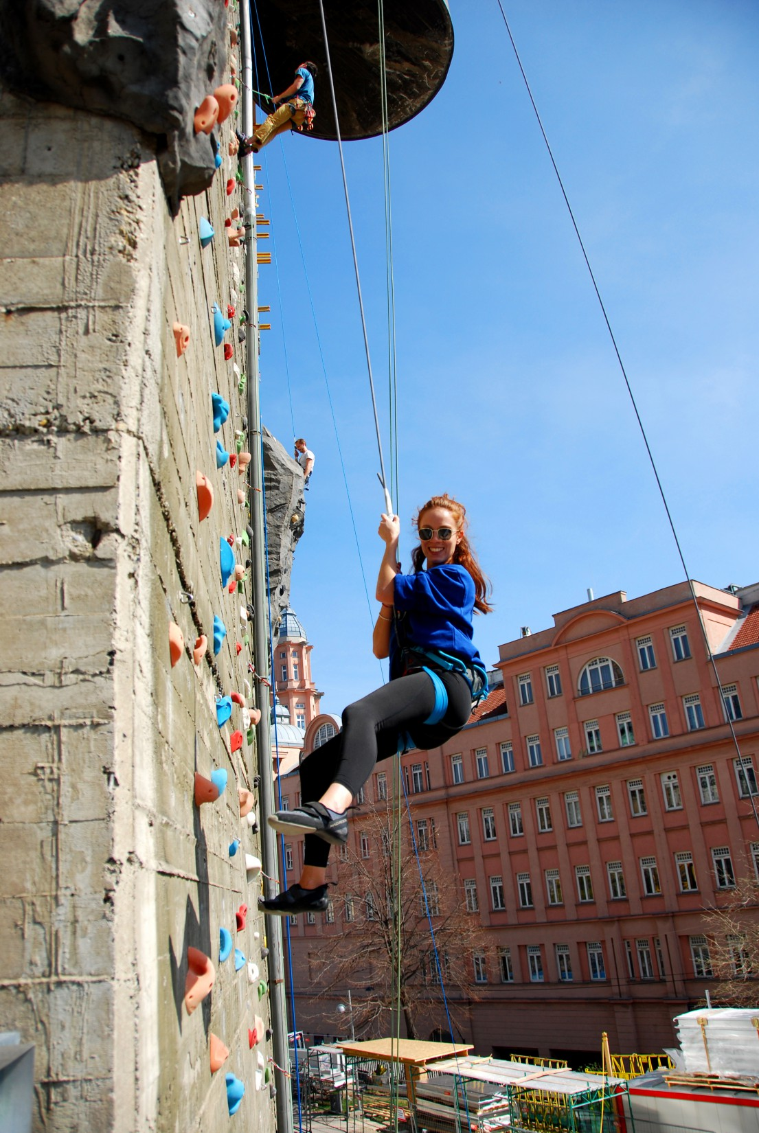 Klettern in Wien in den Sommerferien