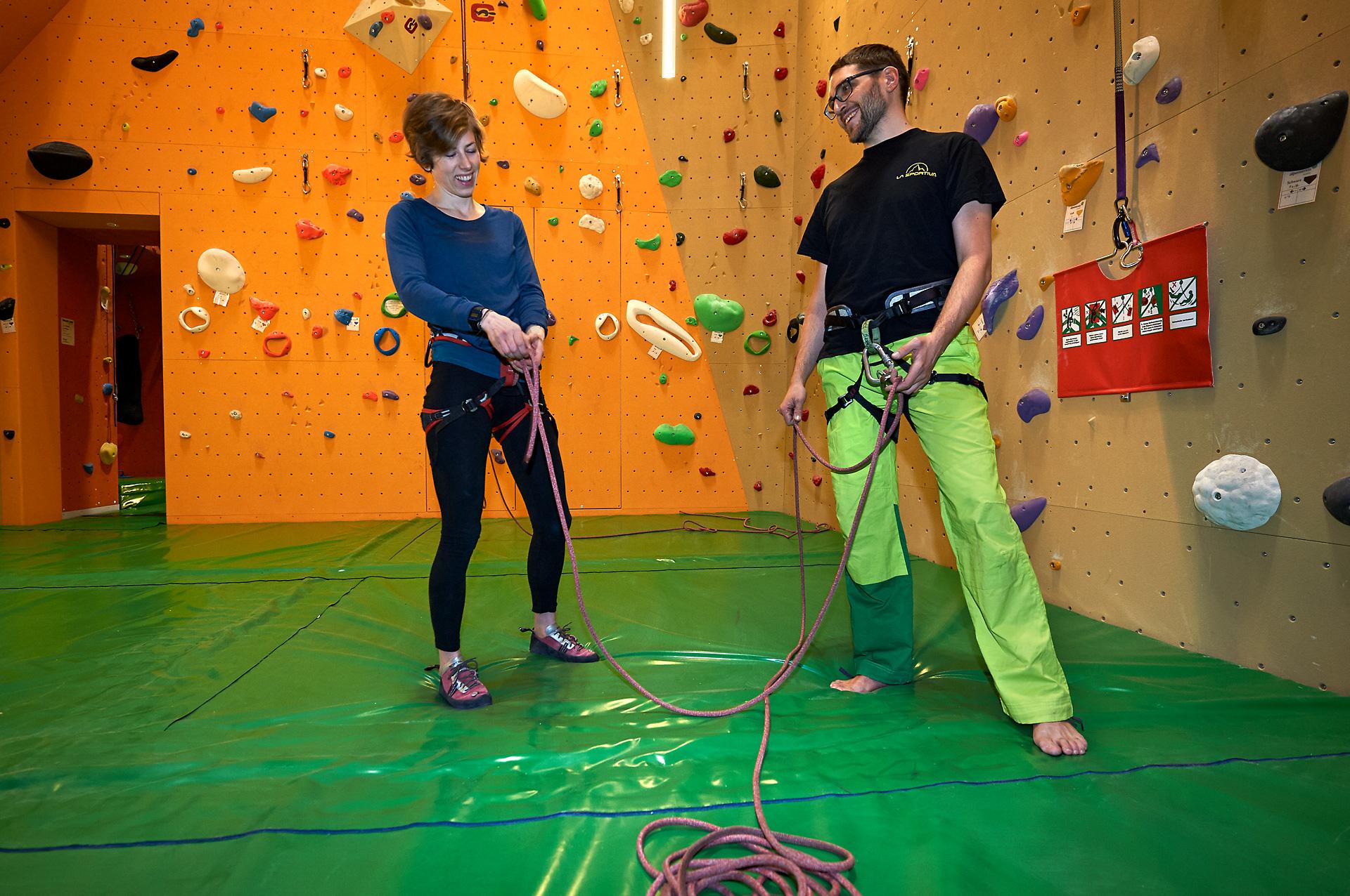 Kletterkurse von April bis Juni online