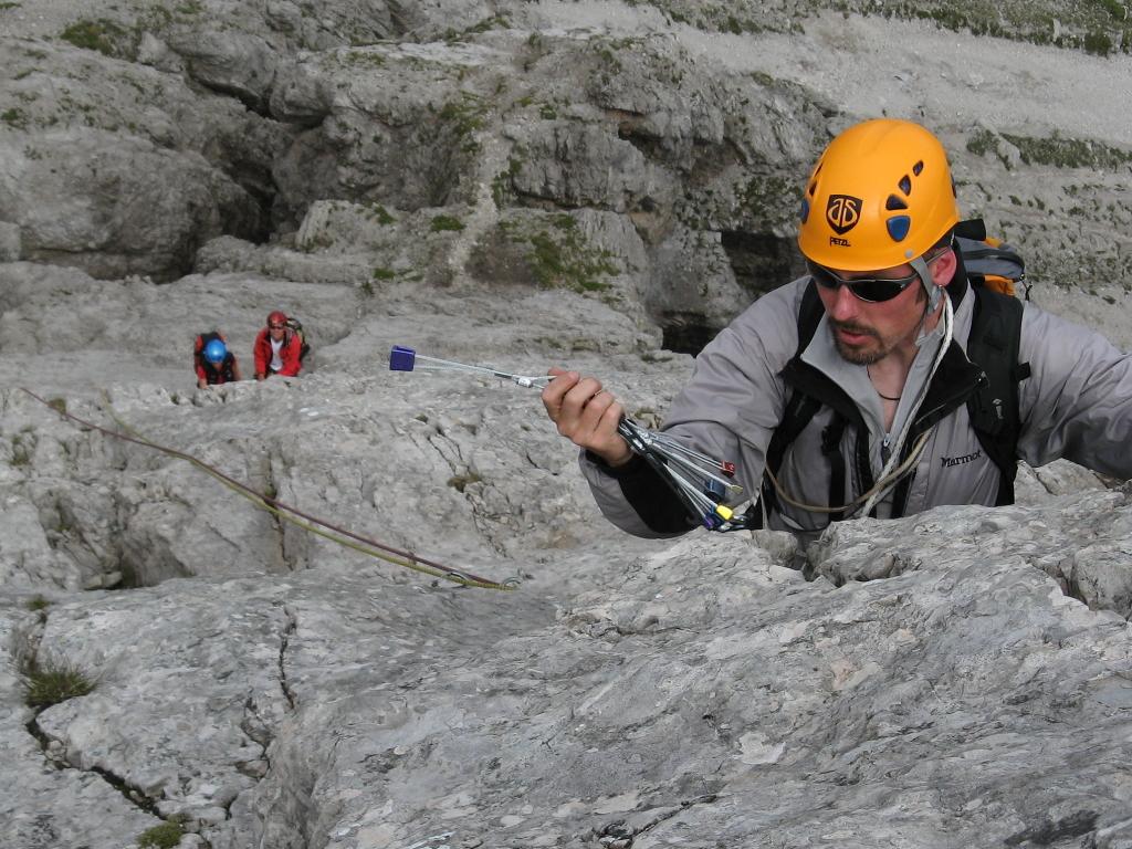 Alpinklettern Aufbaukurs Hofpürglhütte
