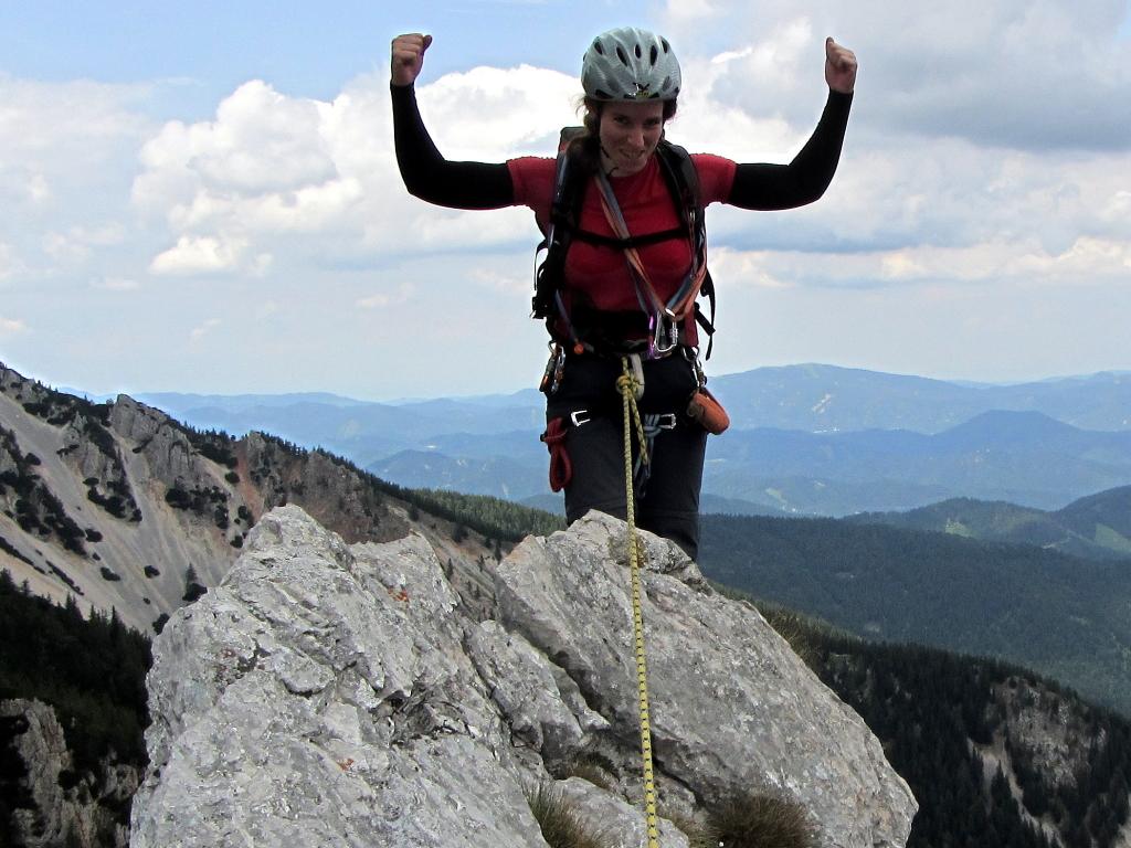 Kletterkurse am Fels: alpin und sportlich