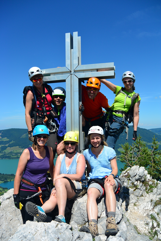 Klettersteigpotpourri im Juli