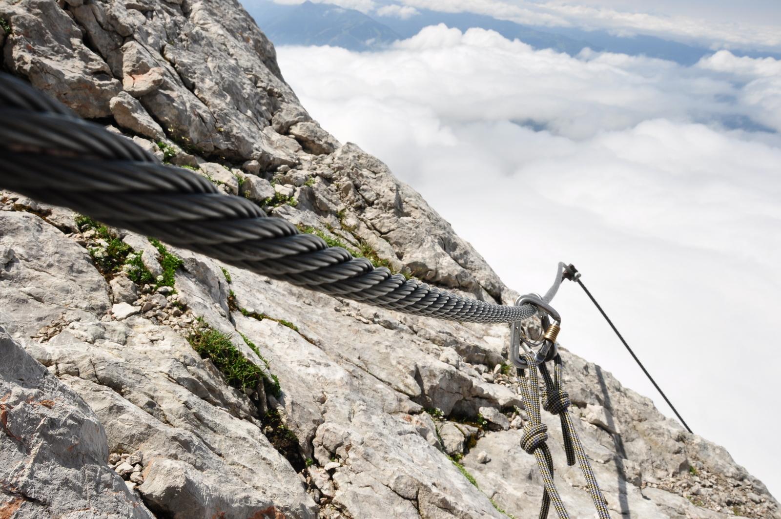 Klettersteigkurs am König der Steiermark