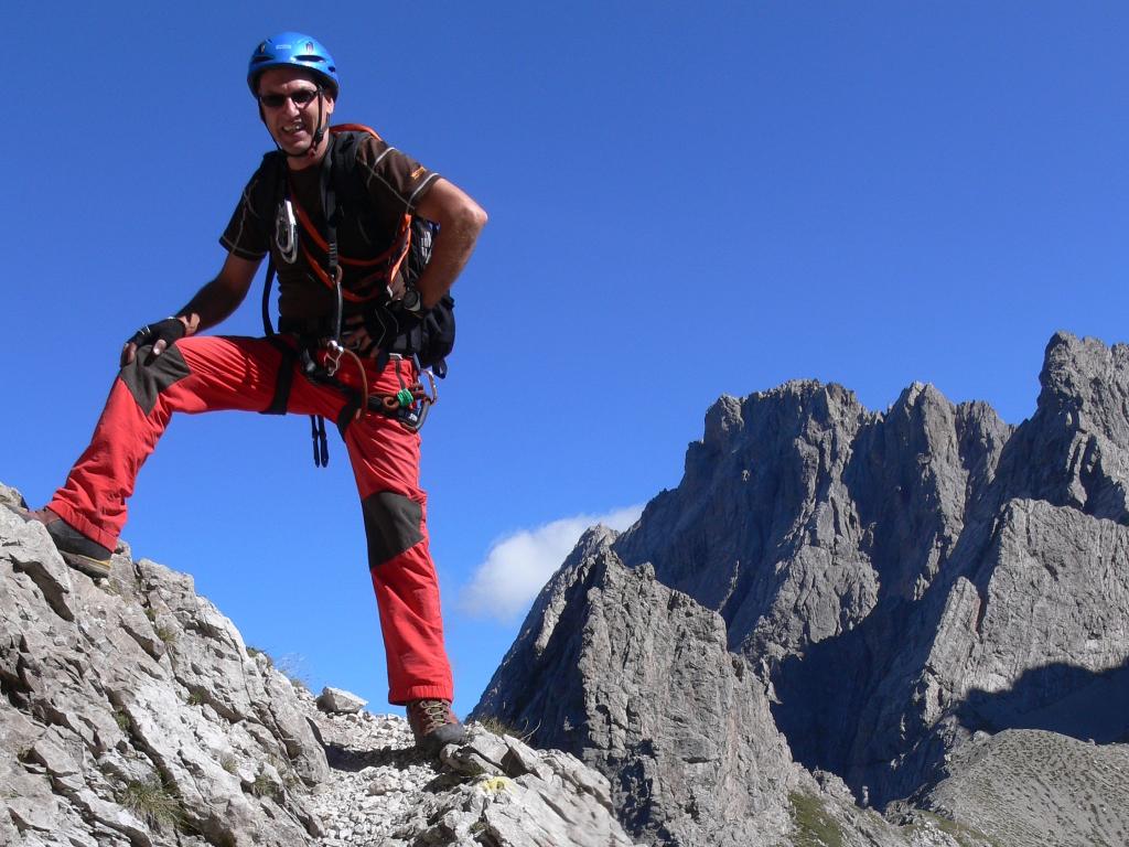 Klettersteigtouren im Alpenraum