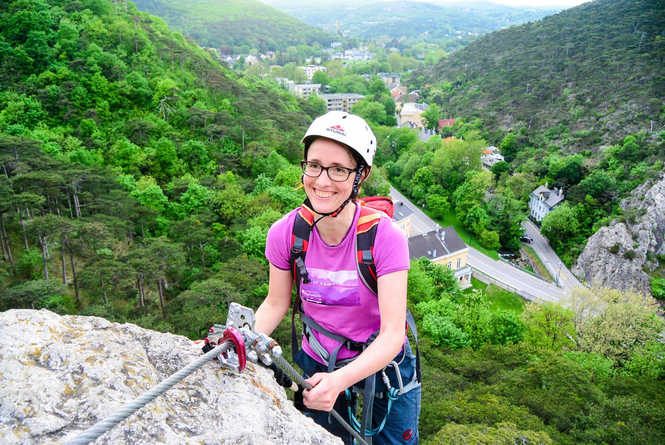 Klettersteig - Test und Schnuppertag