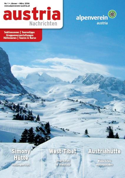 Austria Nachrichten 1/2016