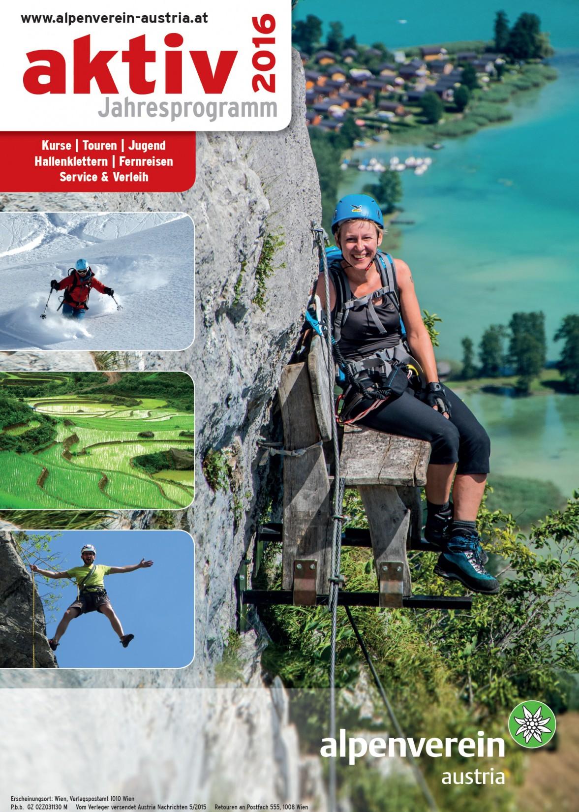 Aktiv 2016 - Touren und Kurse sind online