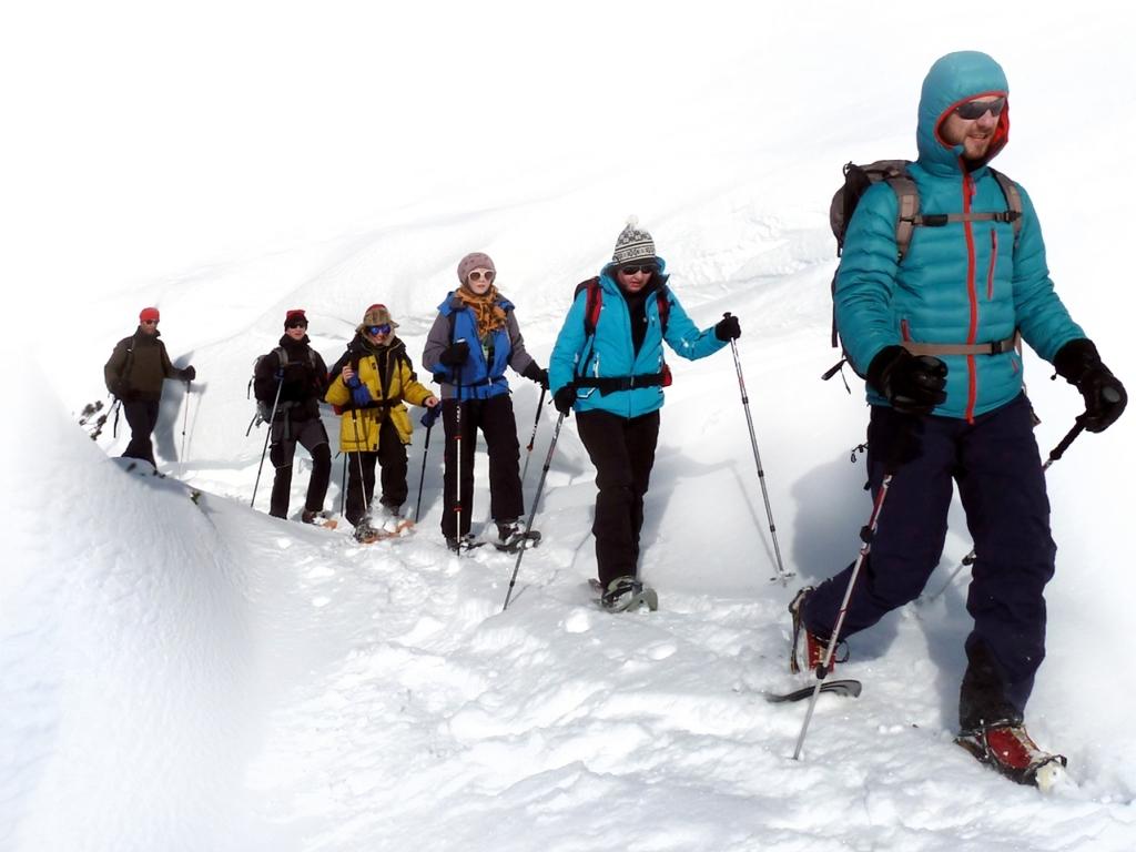 Schneeschuhwandern Grundkurs