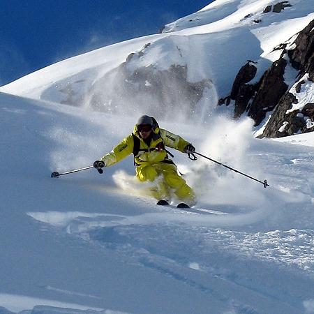 Variantenfahren und Skitouren am Arlberg