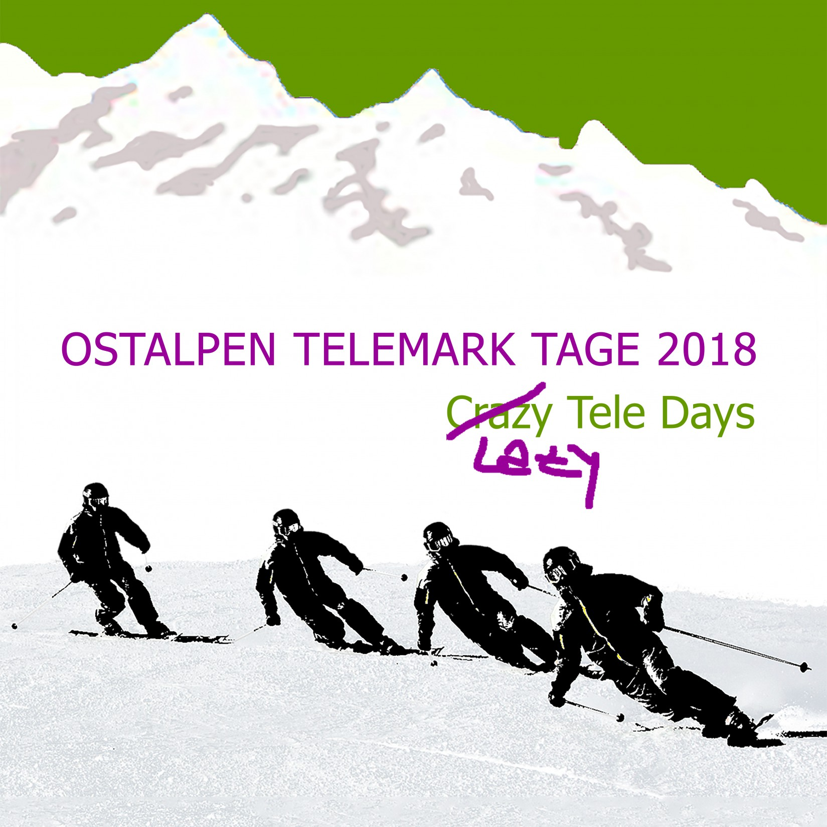 Ostalpen Telemark Tage 2018 - Crazy/Lazy Tele Days am Hochkar