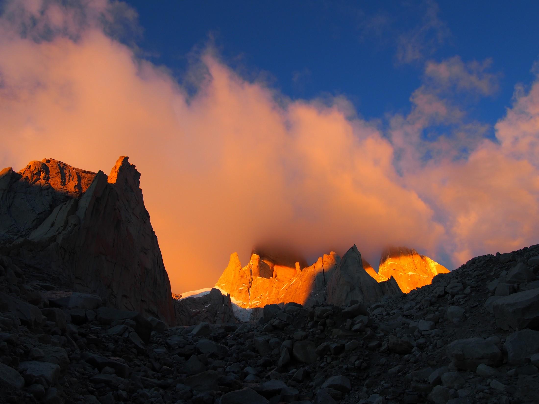 Klettertrip Patagonien