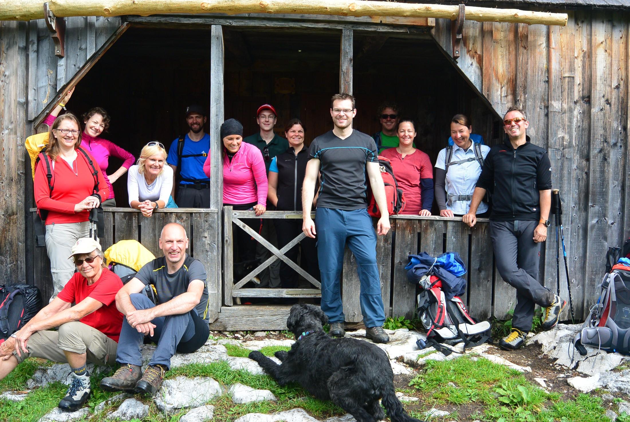 Ehrenamtlich Arbeiten beim Alpenverein