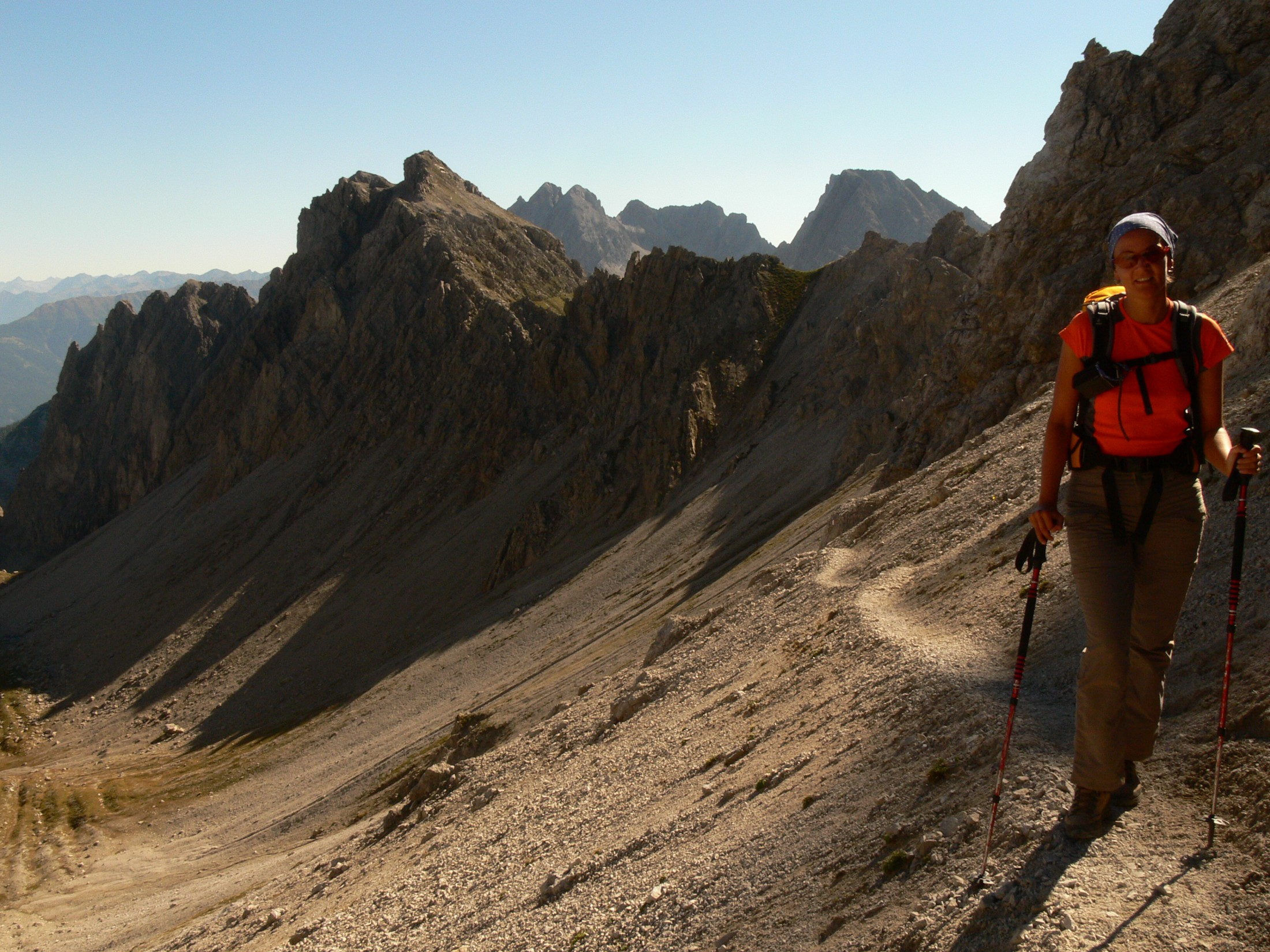 Alpine Herbstwanderwoche  Gardaseeberge, Brenta, Adamellogruppe