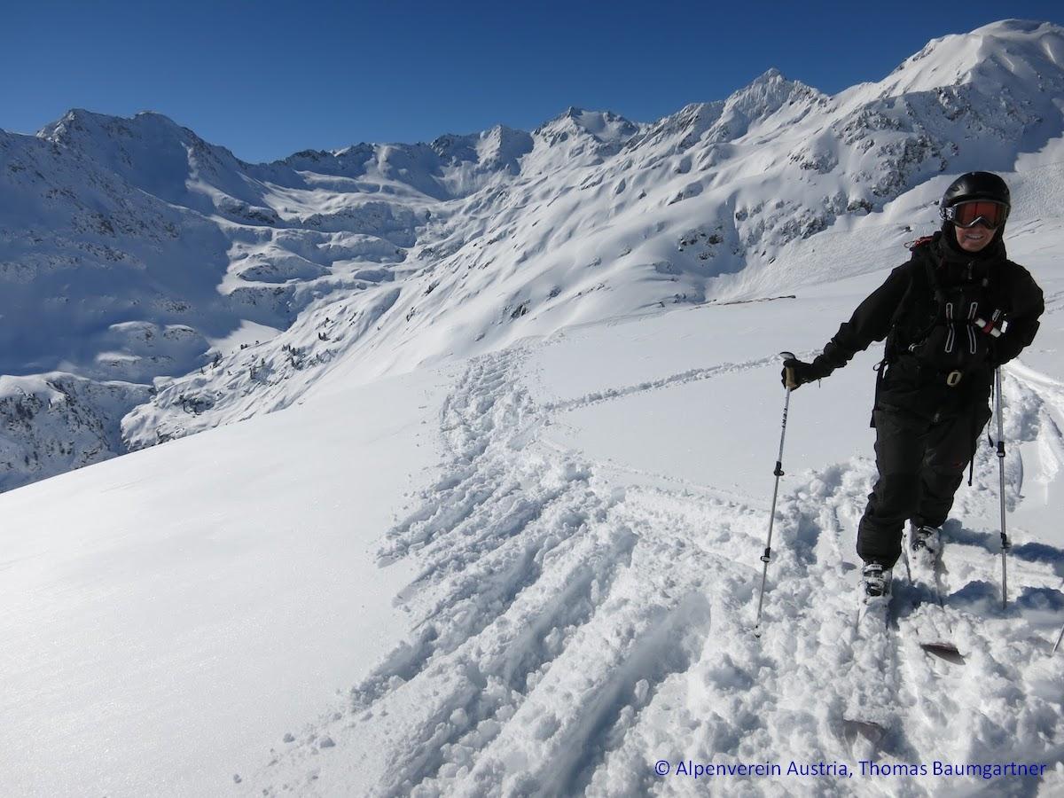 Variantenfahren und Skitouren am Arlberg 2015