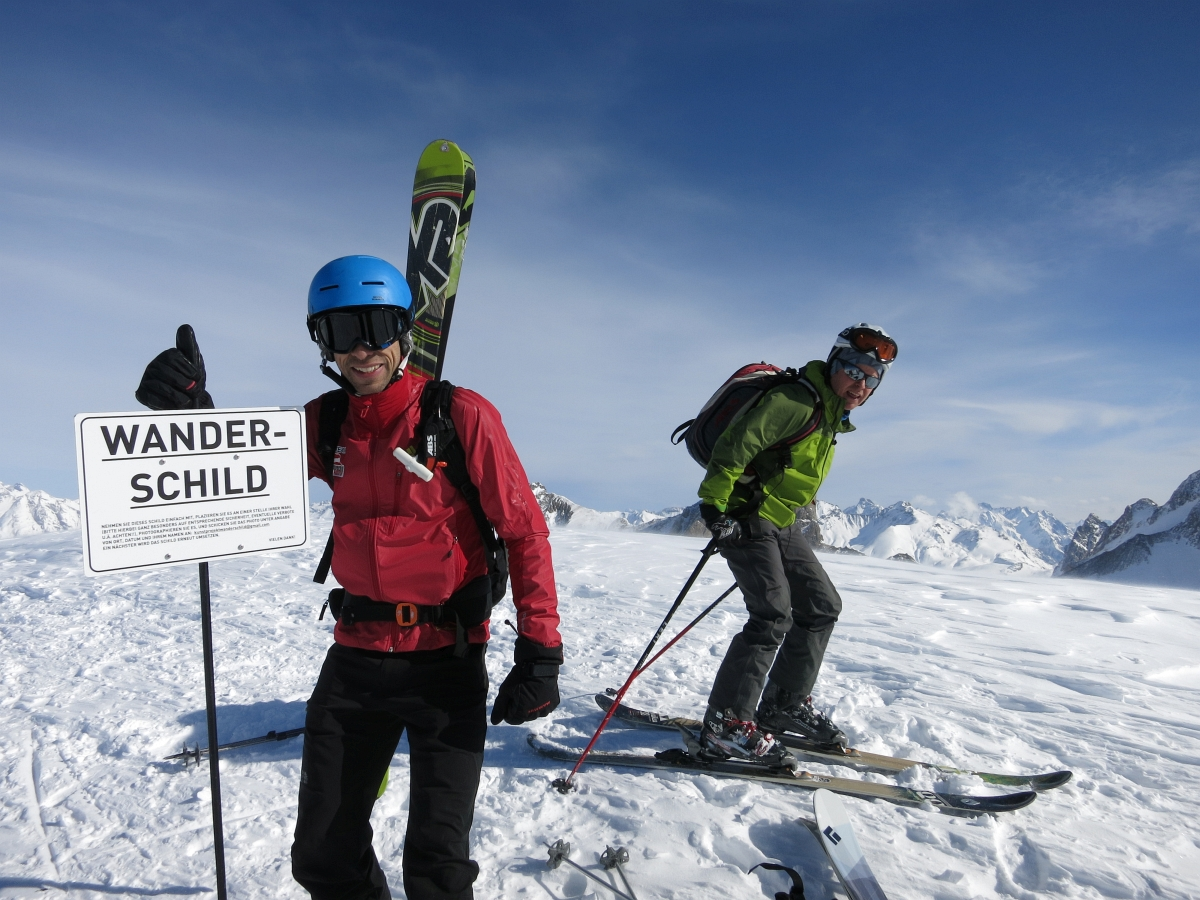Skitouren und Variantenfahren am Arlberg