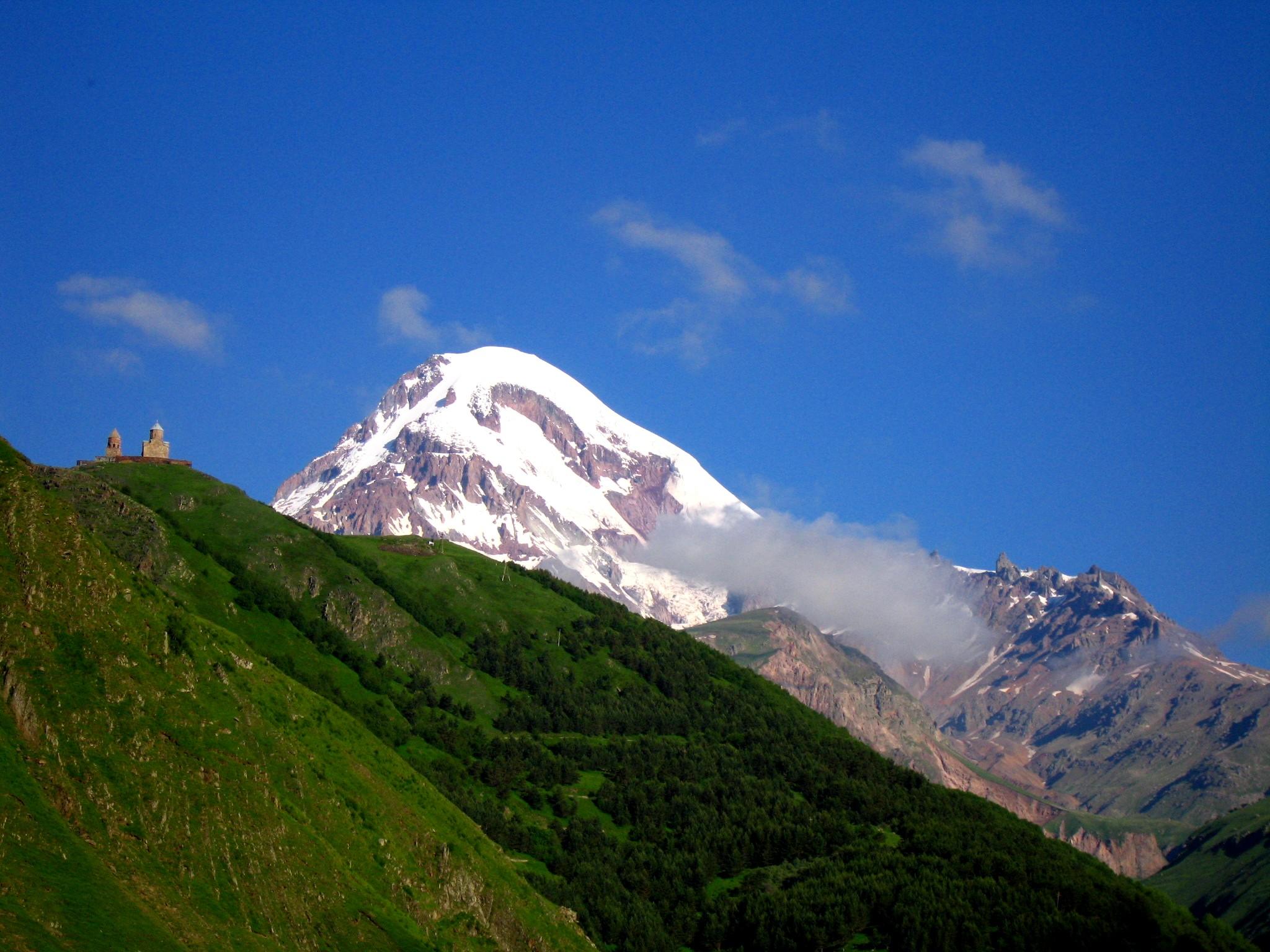 Mount Kazbek 5.047 m