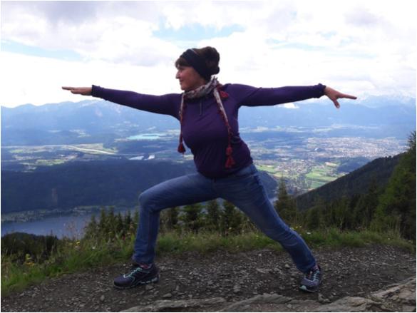 Yoga der geheime Schatz der Bergsteigerin und Wanderin