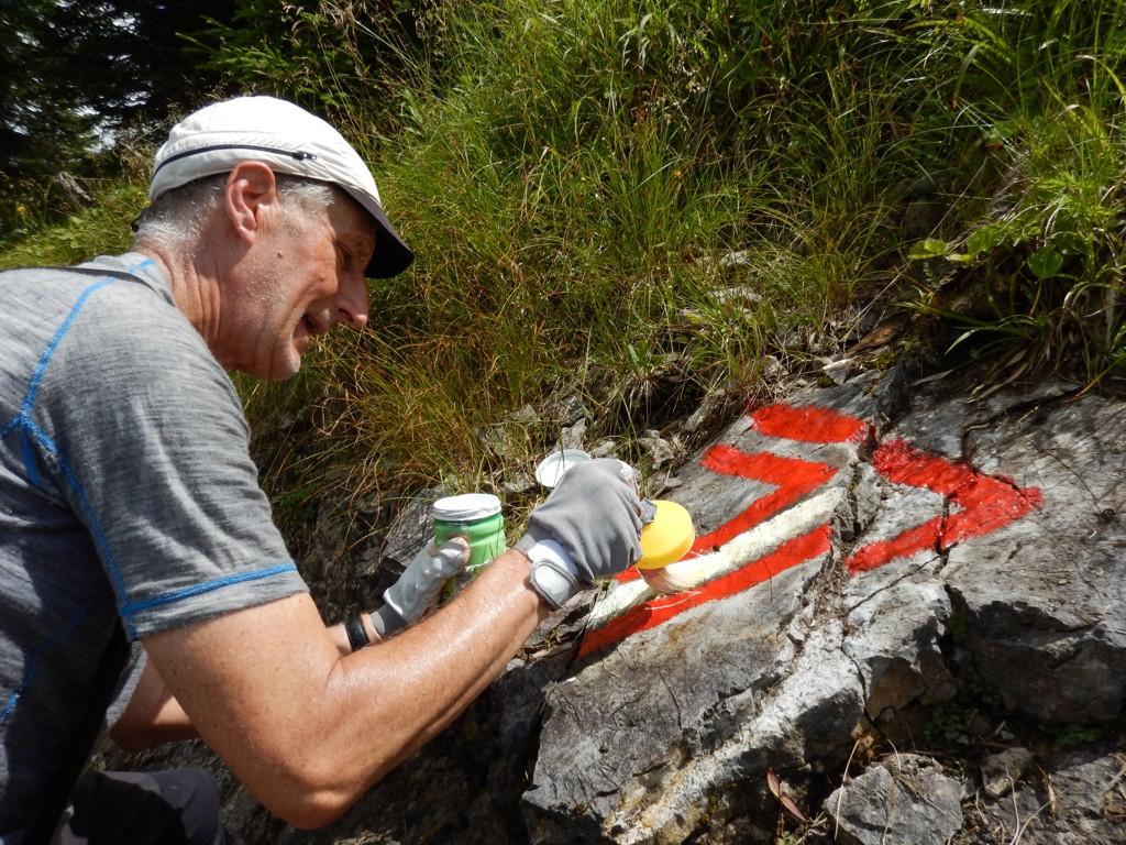 Bergwaldprojekt [das]; Umweltbaustelle [die]; Teil 8
