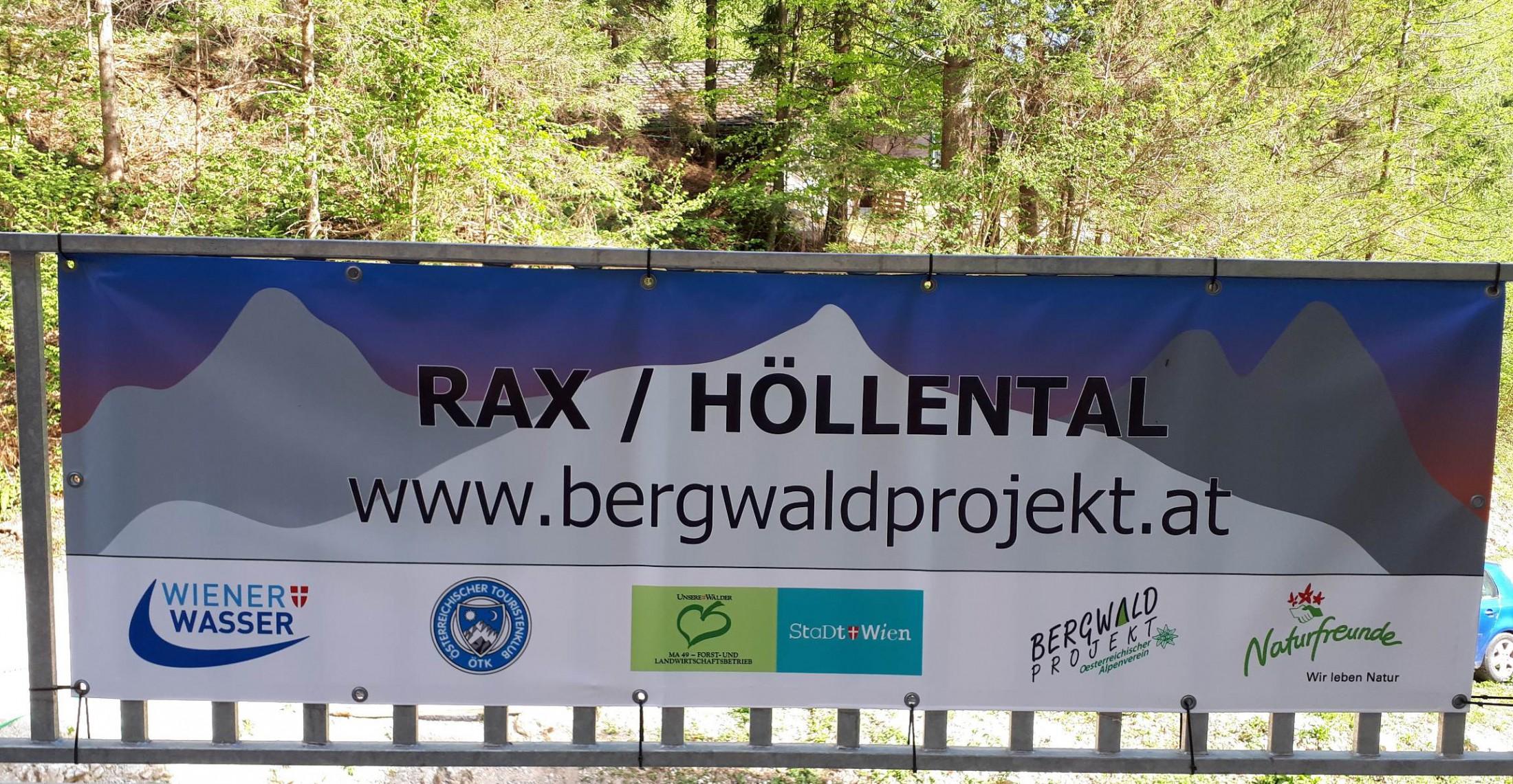 Bergwaldprojekt 2018 im Höllental