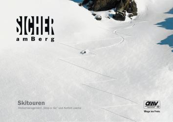 Sicher am Berg, Booklet Skitour