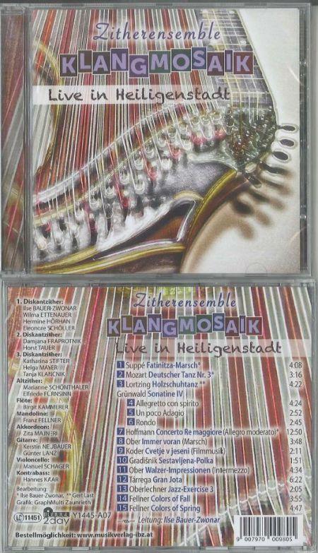 Neue CD unserer Zithergruppe