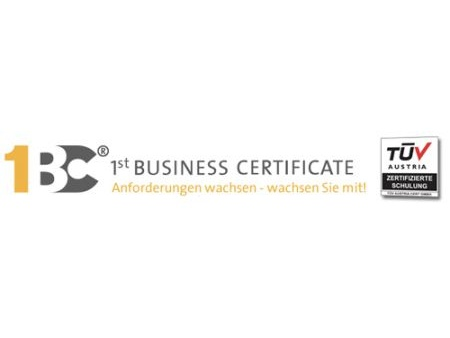 1st Business Certificate®