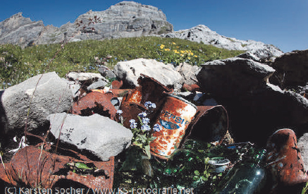 Projekt Alpen Littering