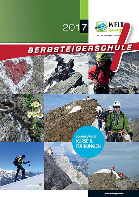 Bergsteigerschule - Programm 2017