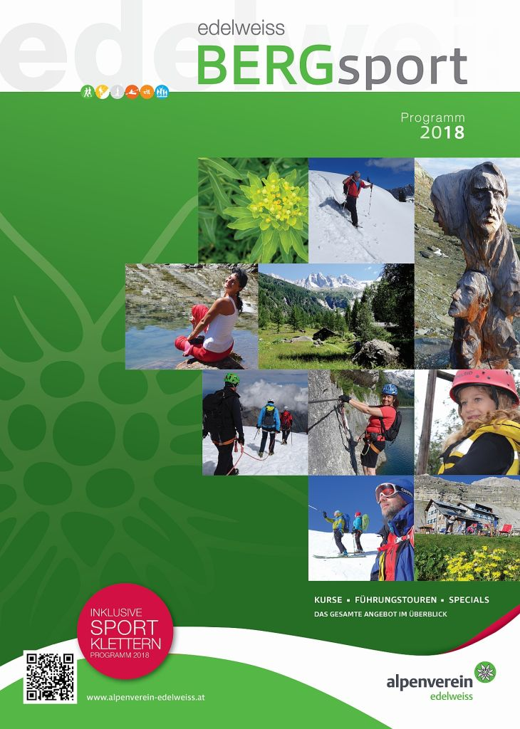 Bergsportprogramm 2018
