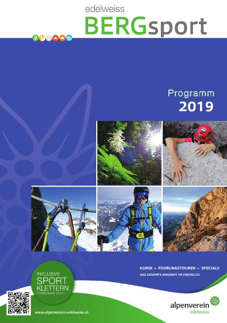 Bergsportprogramm 2019