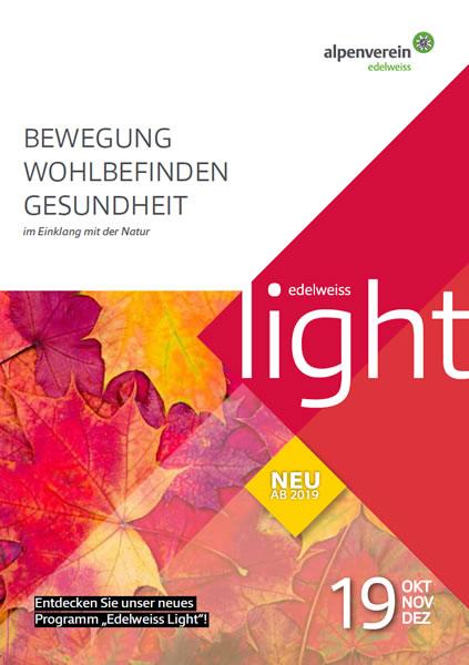 Edelweiss light <BR>- im Herbst