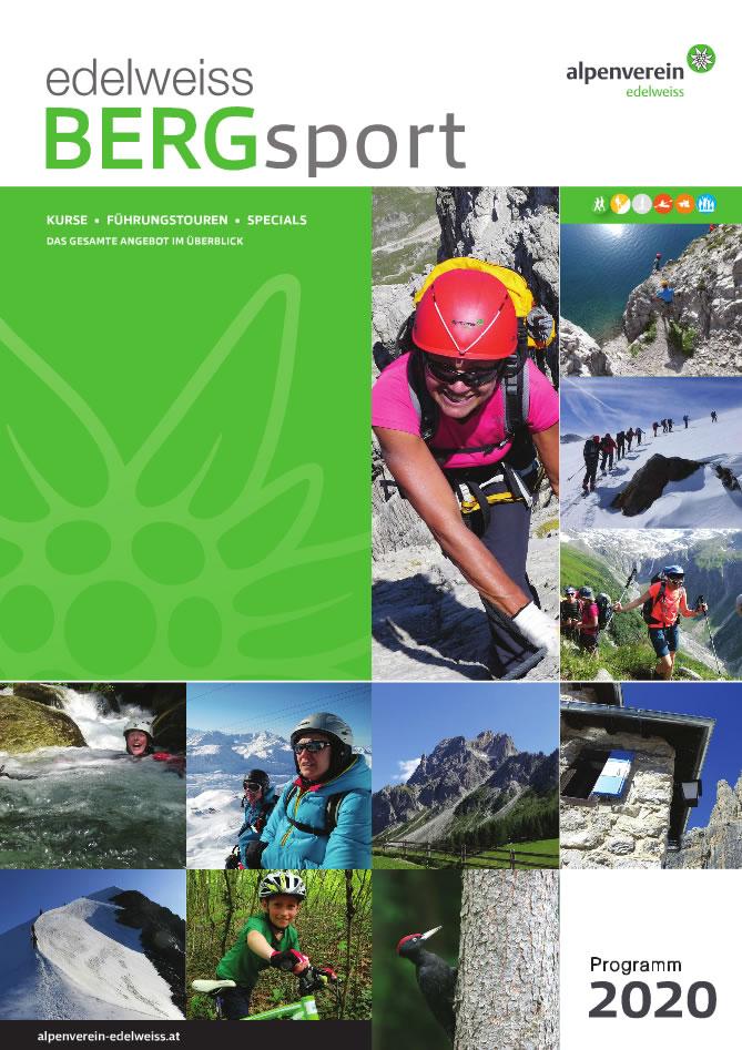 Bergsportprogramm 2020