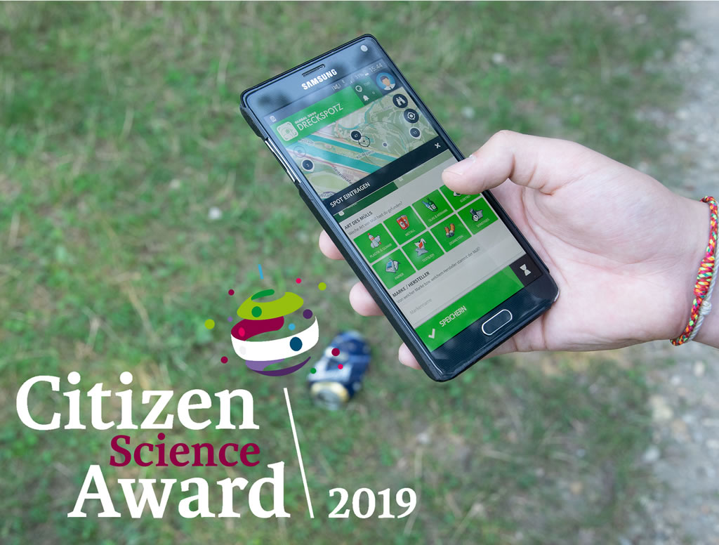 DreckSpotz Citizen Science Award