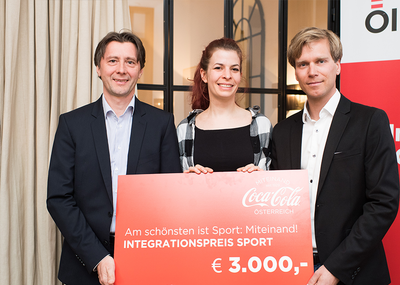 Verleihung Integrationspreis Sport 2018