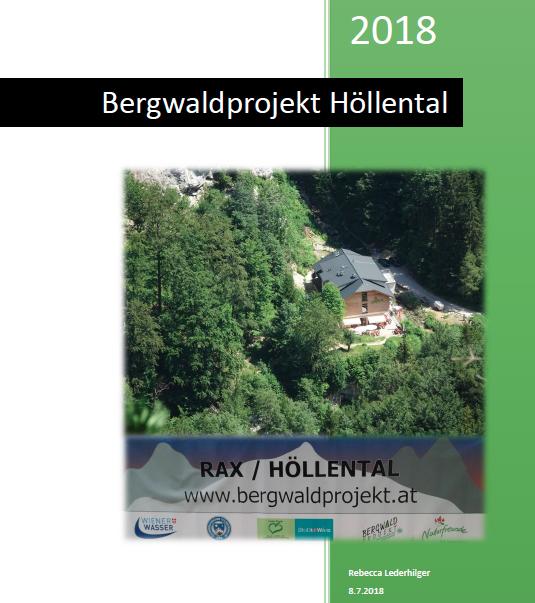 Bergwaldprojekt Höllental 2018