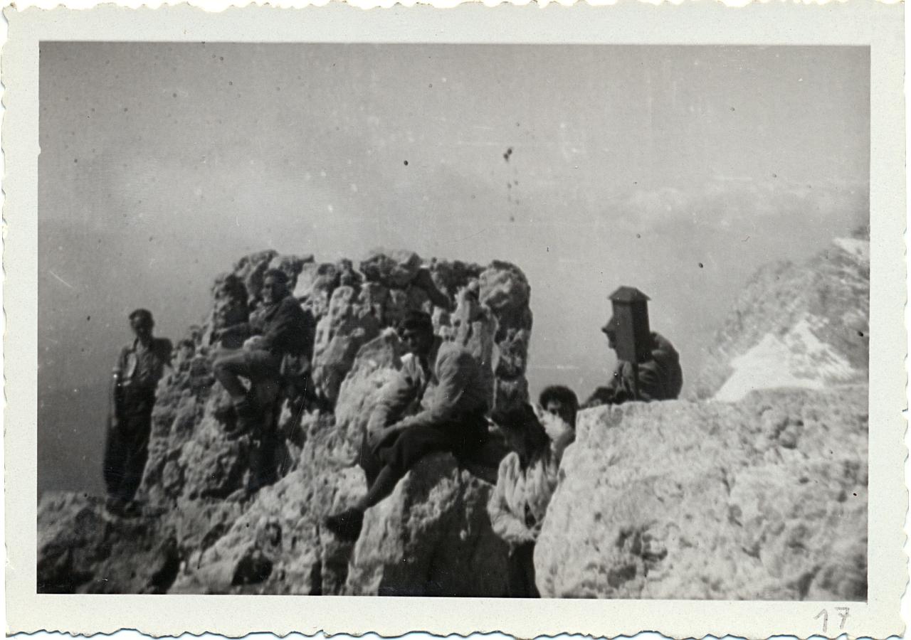 Eine Dachstein-Wanderung mit dem Alpenverein 1947
