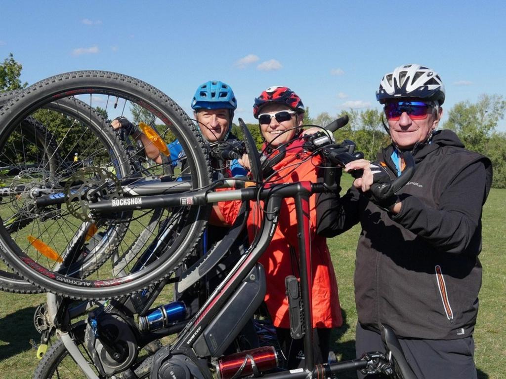 E-Bike-Kurse für 60+ Mitglieder