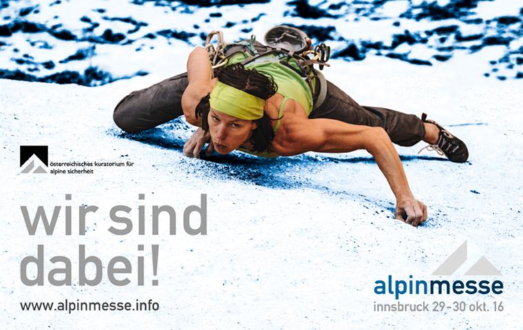 WELTbewegend goes Alpinmesse 2016