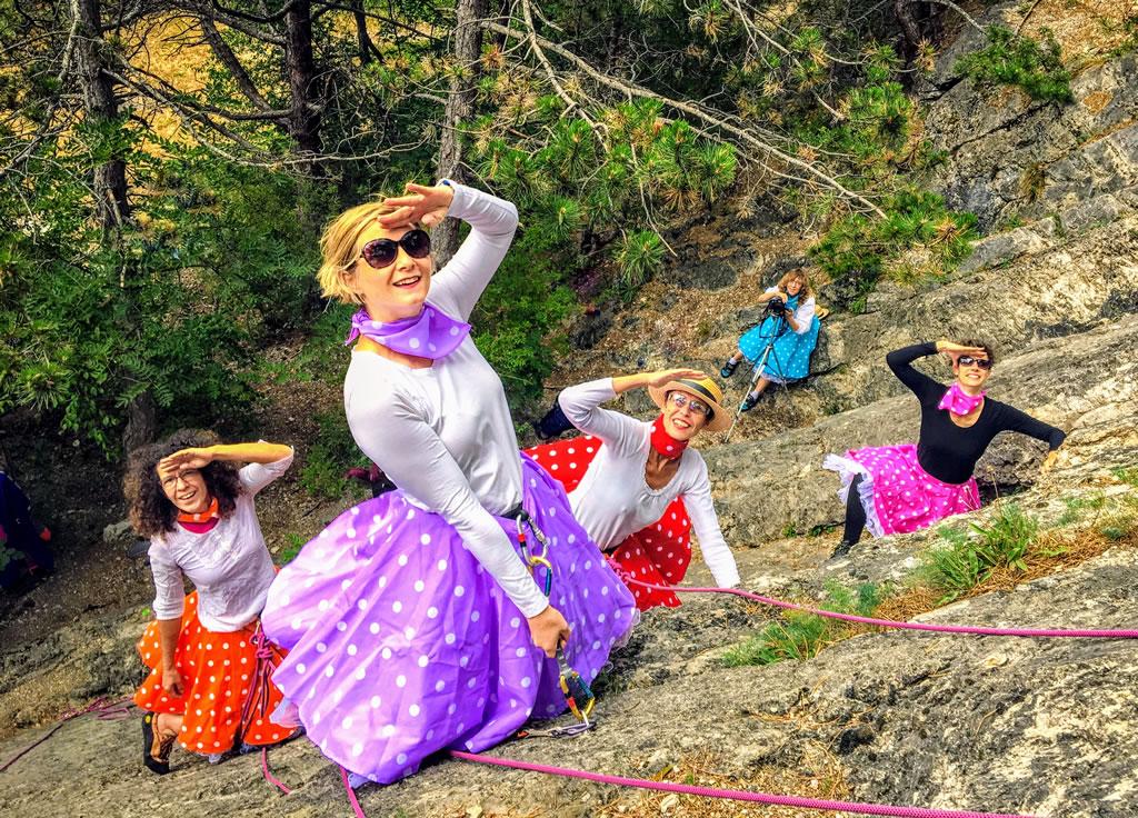 Frauen am Berg - einst und jetzt!