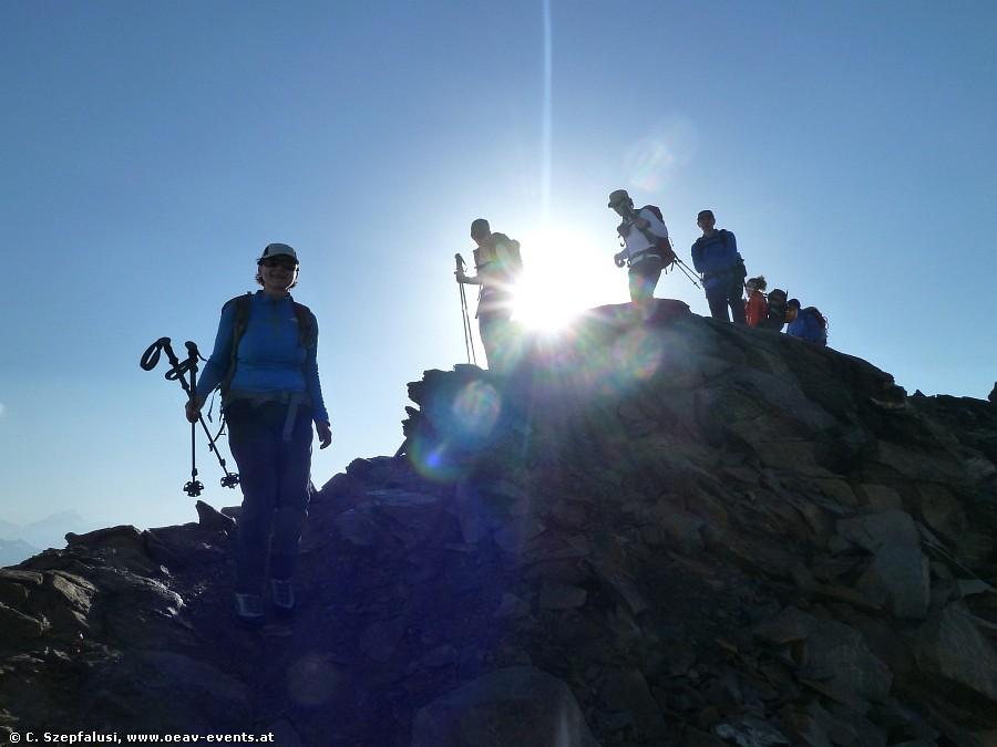 Wanderwoche auf Dreitausendern