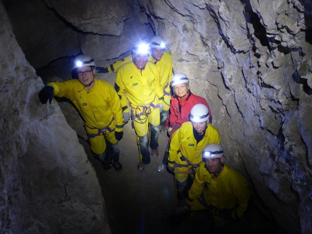 Schnupperkurs Höhlentrekking - 3 Termine im Herbst: