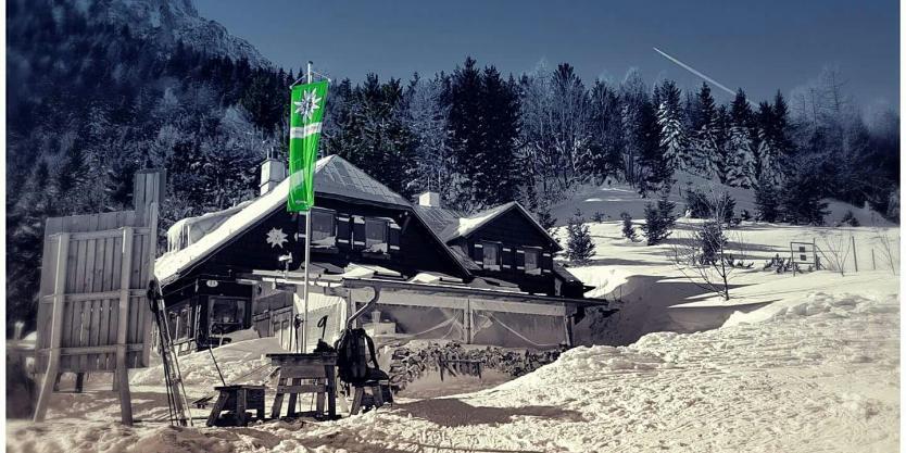 Winterbetrieb Edelweisshütte am Schneeberg