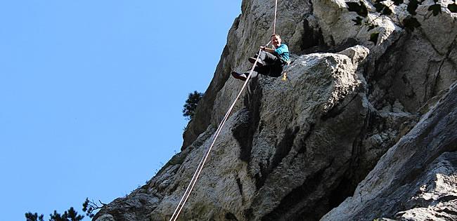 Meine erste Mehrseillängen-Klettertour