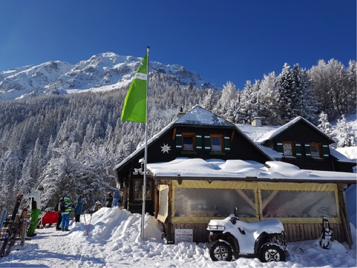 Familien Spezial: Mit Schneeschuhen zur Edelweisshütte!