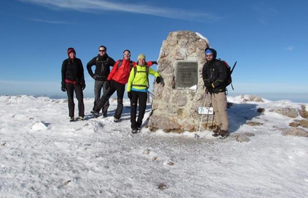 Mit Pickel & Steigeisen auf den Schneeberg