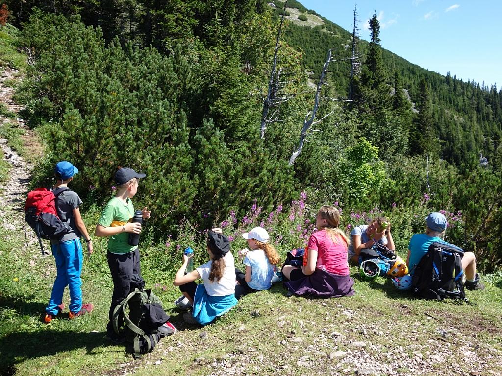 Erlebnisberglager Leobnerhütte