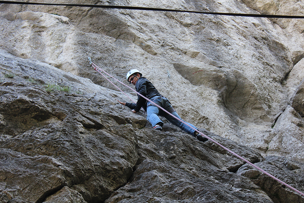 Alpin-Klettern