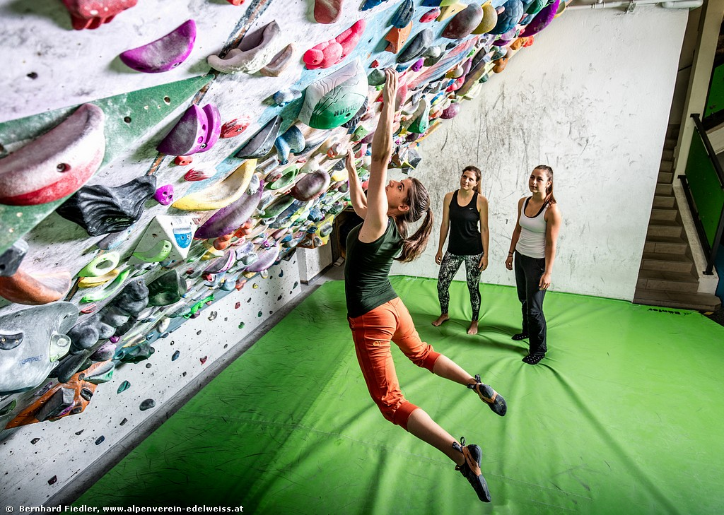Bouldern Basic<BR>4 ladies only